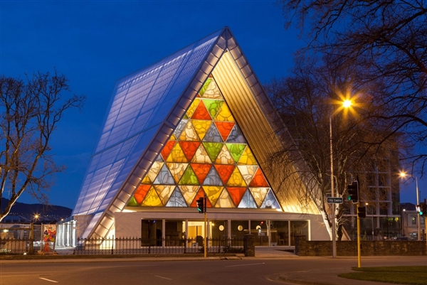 Cathédrale de Christchurch - Shigeru Ban