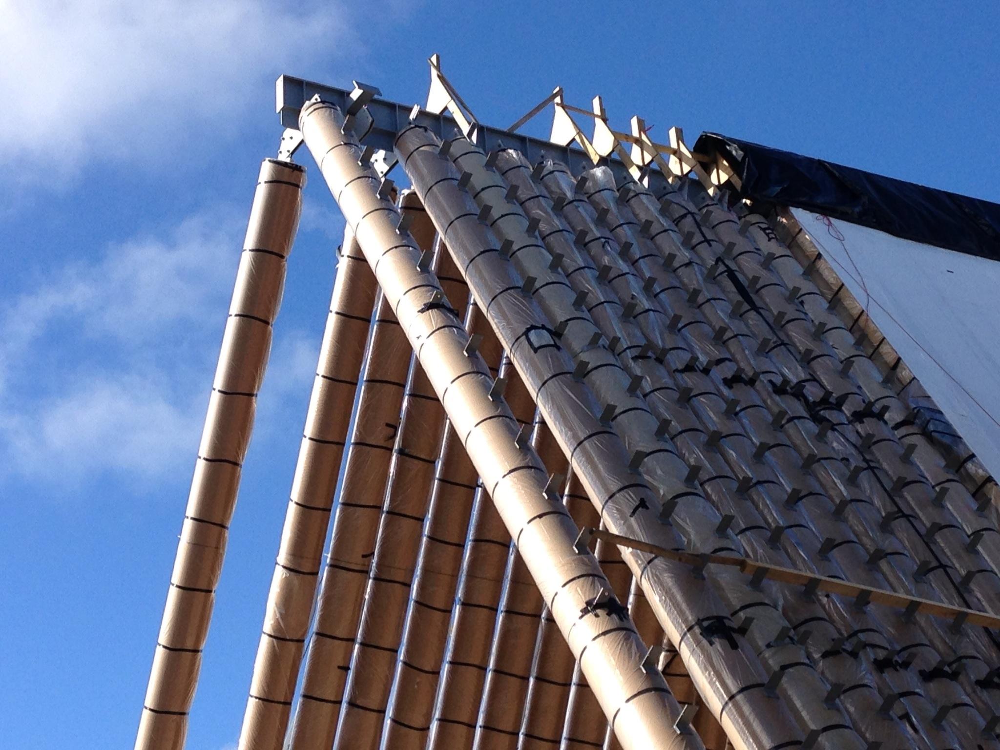 Cathédrale de Christchurch - Shigeru Ban
