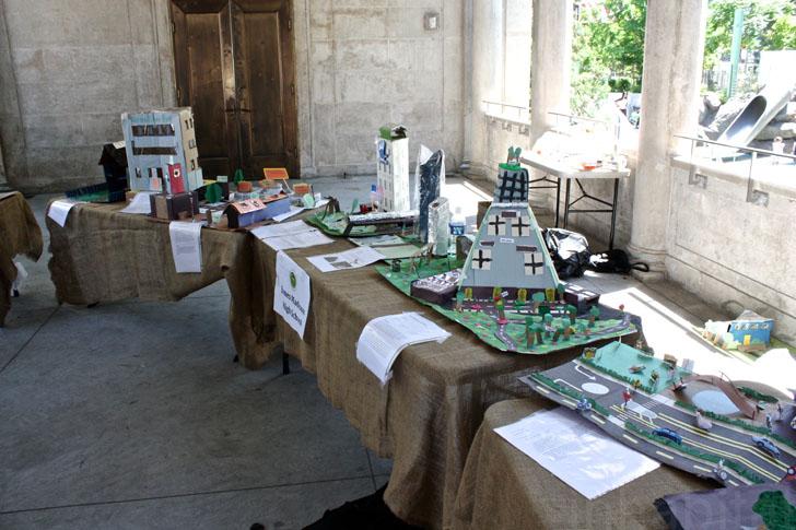Exposition d'inspiration écologique (New York)