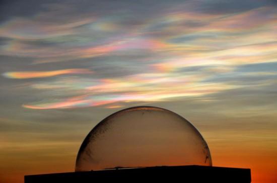 Les nuages nacrés