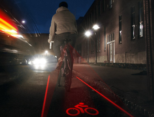 La piste cyclable portative