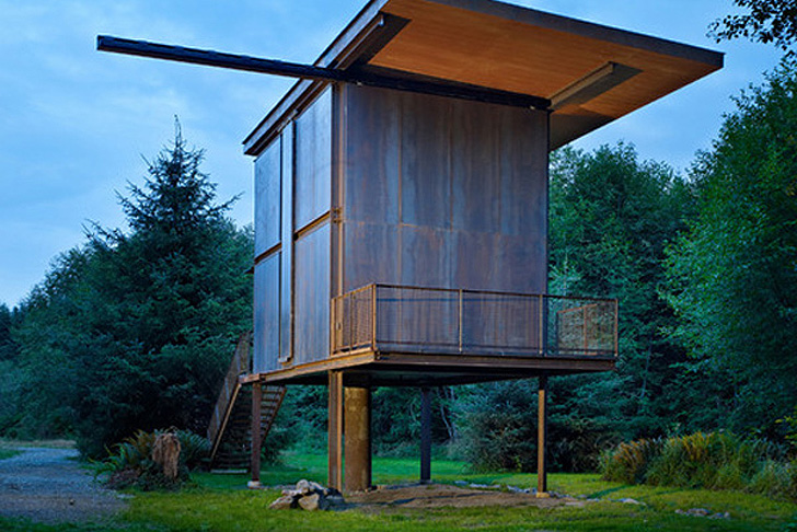 Refuge Sol Duc Cabin par Olson Kundig Architects