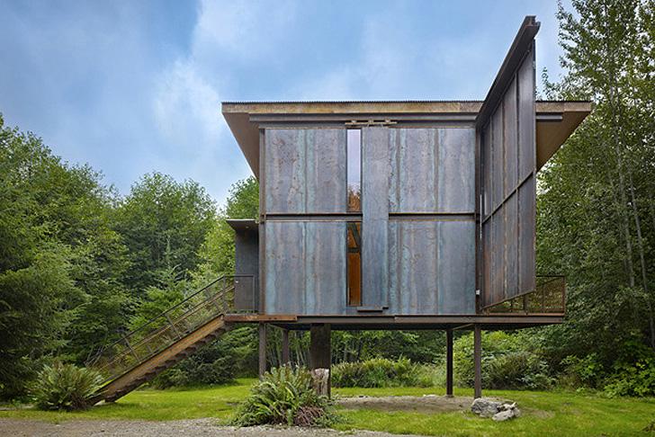 Refuge Sol Duc Cabin par Olson Kundig Architects