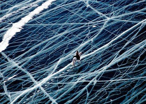 Lacs gelés
