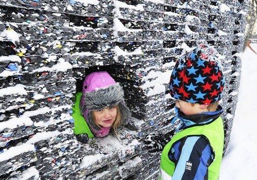Caverne pour enfants (Trondheim, 2012)