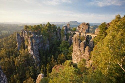 Les montagnes gréseuses de l'Elbe