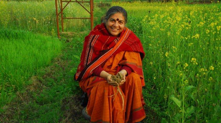 Vandana Shiva : son combat contre la souveraineté alimentaire