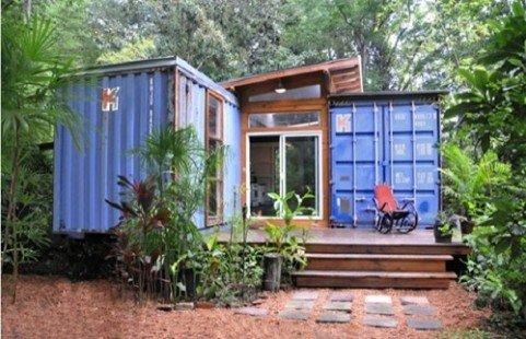10 maisons fabriquées avec des matériaux récupérés