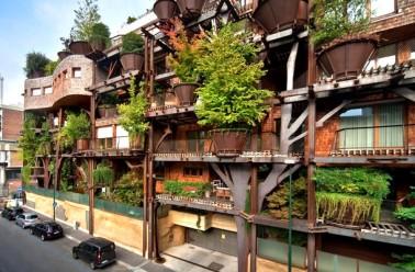 Turin un immeuble v g tal qui compte plus de 200 arbres - Immeuble vegetal ...