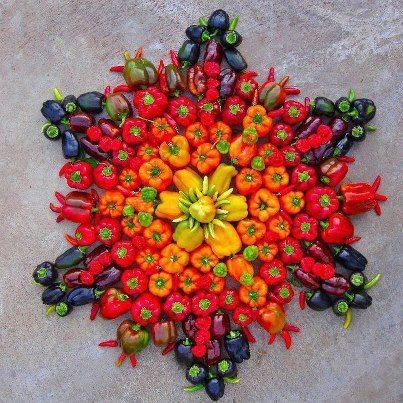 fractale de fruits