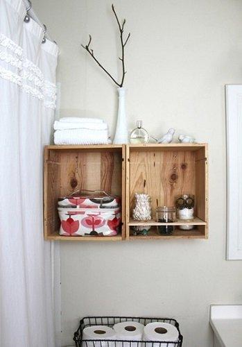 Cagettes et caisses en bois recycl es 10 cr ations - Vieilles caisses en bois a vendre ...