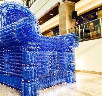 Nouveau sofa... recyclable !