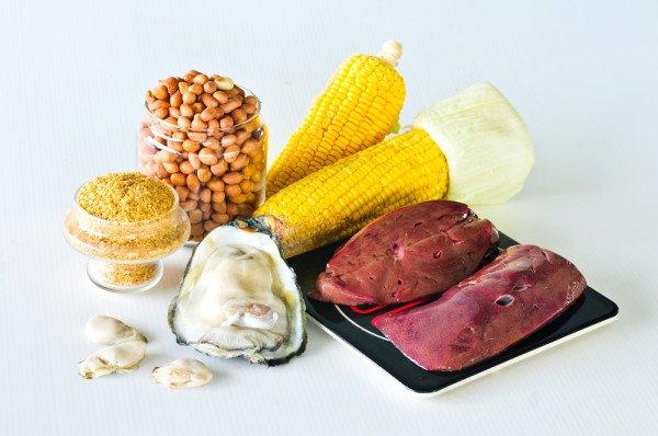 Il faut manger des aliments riches en zinc pour lutter avec cette carence