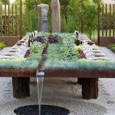 La table parfaite pour une soirée d'été !