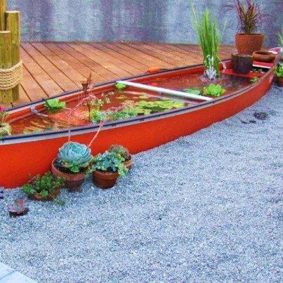 Le canoe ré-utilisé !