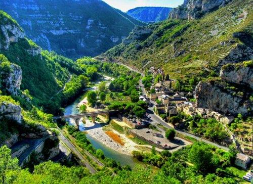 Les Gorges des Cévennes, un vaste paysage calcaire
