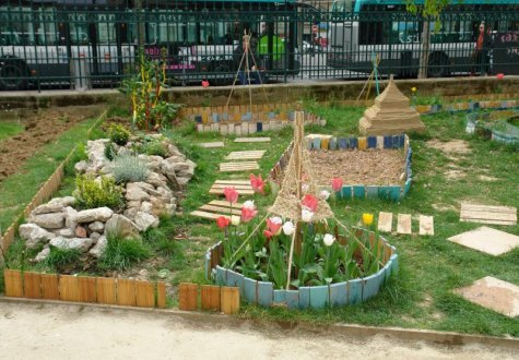 Square Saint-Laurent : la réinsertion par le jardinage