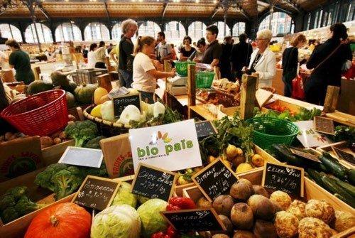 Marché des produits biologiques