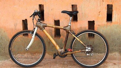Bamboo Bike : le vélo en bambou made in Ghana