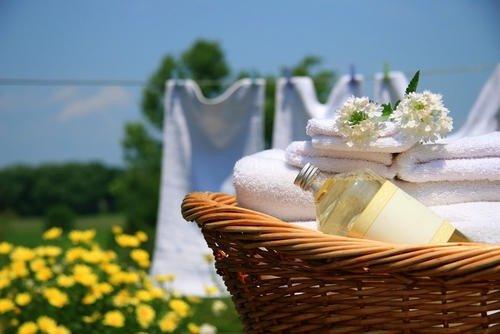 Recettes de produits naturels pour le linge