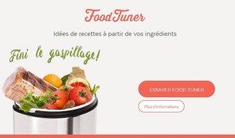 Food Tuner : des idées de recettes avec les ingrédients à disposition dans votre cuisine