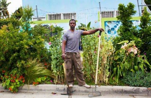 Aux États-Unis, un gangster-jardinier plante des légumes dans la rue !