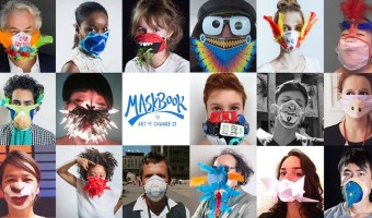 Maskbook, des masques antipollution artistiques pour la transition écologique