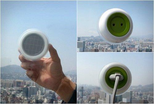 La prise électrique Window Socket, solaire et portative