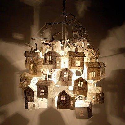 Une jolie lampe-maison !