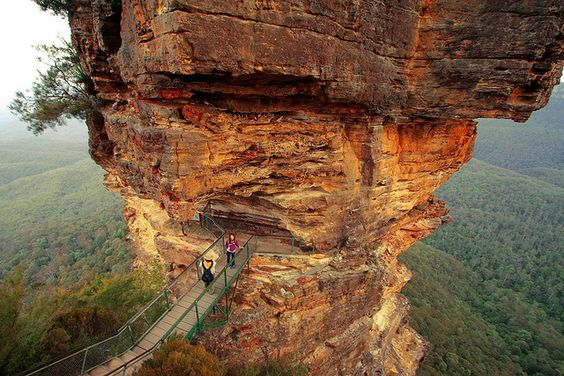 Le pic de Three Sisters, Blue Mountains, photo par PacoAlcantara