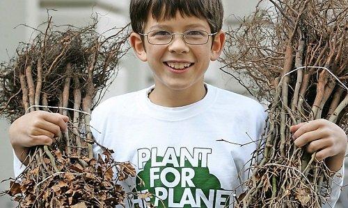 Félix Finkbeiner plante des arbres pour la planète