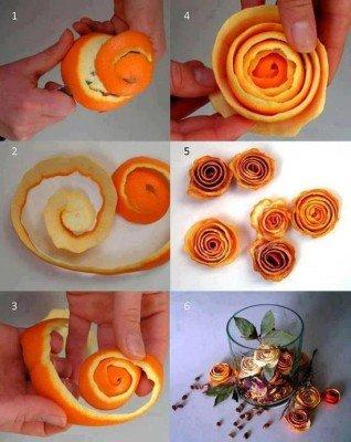 Rosiers d'orangers
