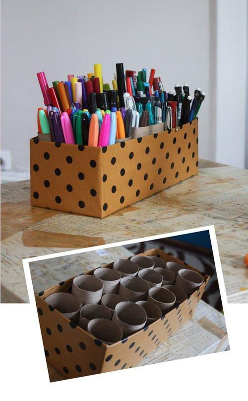 Porte stylos feutres