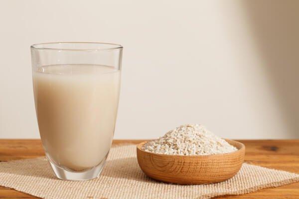 Lait végétal : lait de riz