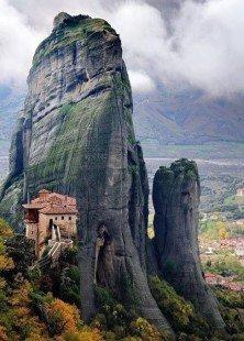 Les météores en Grèce