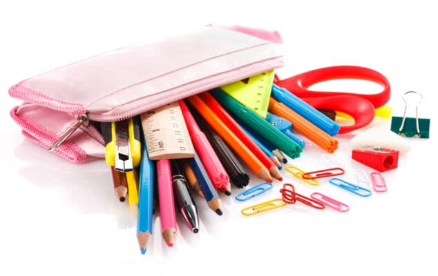 Fournitures scolaires toxiques