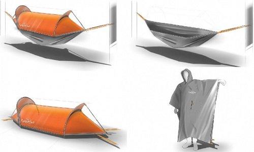 Flying tent : la tente modulable pour voyager léger