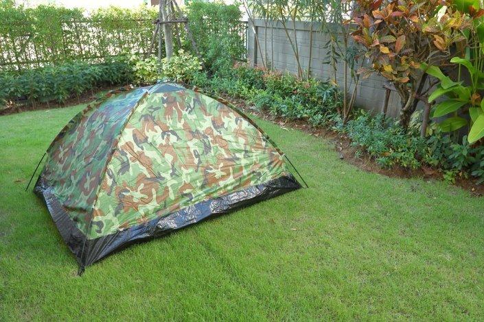 Campe Dans Mon Jardin Le Camping Autrement