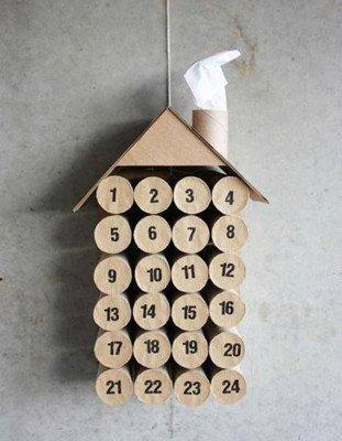 DIY - un calendrier de l'avent