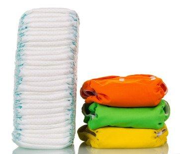 Couche lavable VS couche jetable