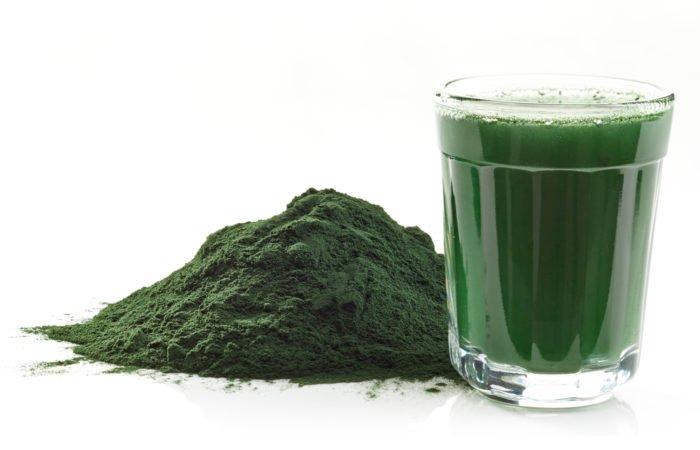 Algue Spiruline en poudre