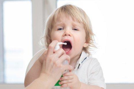 La pharyngite chez les bébés