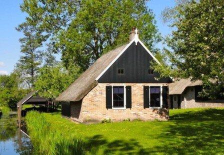 Giethoorn, le village piéton