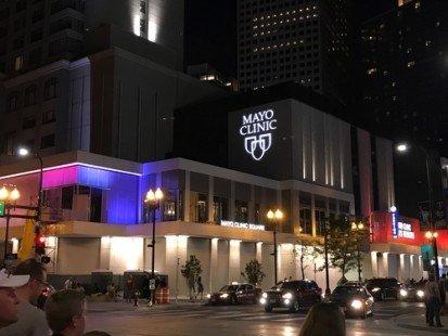 La célèbre clinique Mayo, aux États-Unis