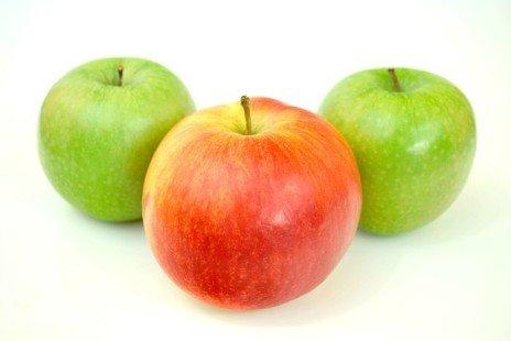 Les variétés de pommes