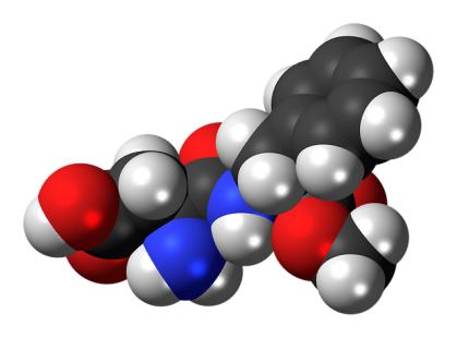 Molécule de cet édulcorant