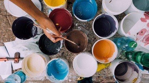 peinture écologique: idées recettes pour les faire vous-même !