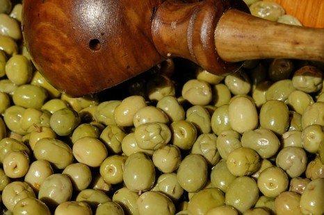 Étapes pour préparer les olives