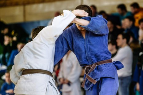 Le judo, cet art martial