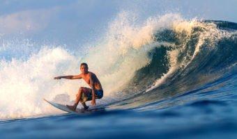 Le surf, c'est bon pour le physique et le mental